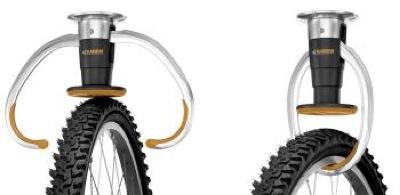 Automātiskais āķis, jeb kā pakārt velosipēdu