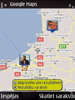 Google Latitude - apskaties kartē kur ir tavi draugi