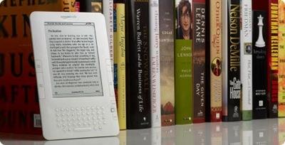 Amazon Kindle 2, jaunā e-grāmata