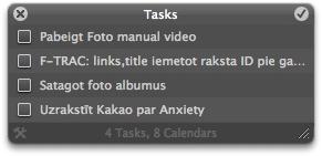 Anxiety - vienkāršs un efektīvs darbu saraksts
