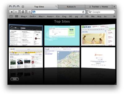 Safari 4 Beta - pārlūku karš turpinās