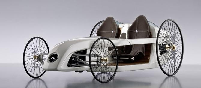 Mercedes F-CELL, pagātne nākotnē