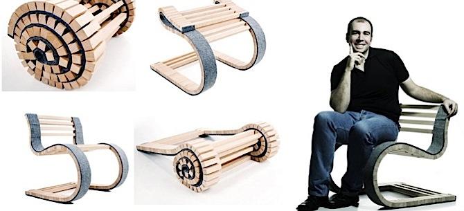 Sarullējamais krēsls