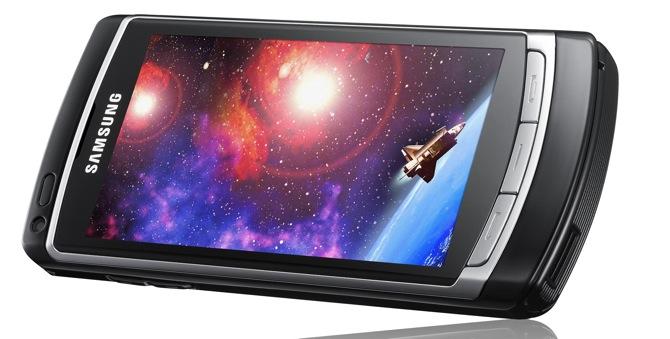 Samsung I8910 - AMOLED ekrāns un HD filmas