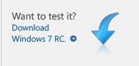 Windows 7 RC - ņem un lieto
