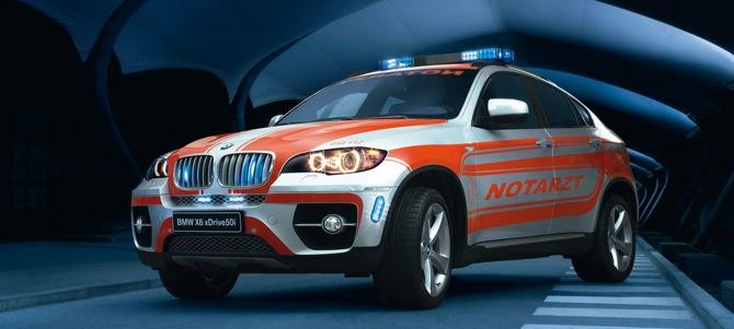 BMW X6 ļoti ātrā palīdzība