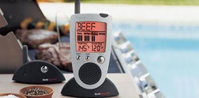 Runājošs bezvadu grila termometrs