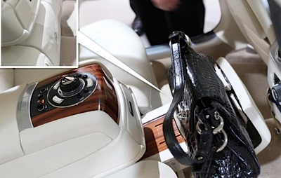 Rolls Royce 200EX somiņu turētājs