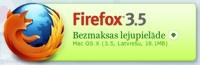 Firefox 3.5 ir klāt