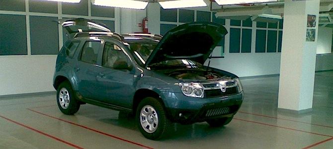 Dacia bezceļnieks tuvojas