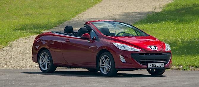 Tests: Peugeot 308CC