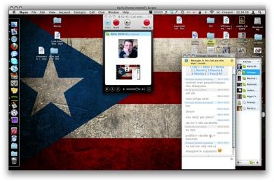 Skype 2.8 priekš Mac