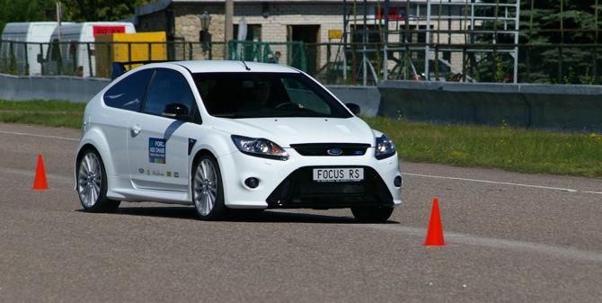 Iepazīšanās ar Ford Focus RS