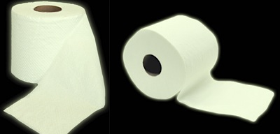 Spīdošais tualetes papīrs