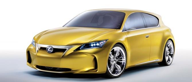 Lexus LF-Ch - jauns premium kompaktnieks