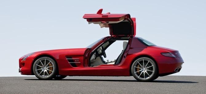 Mercedes SLS AMG - kaija atgriežas