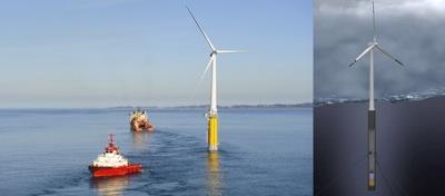 Statoil ķer vēju jūrā