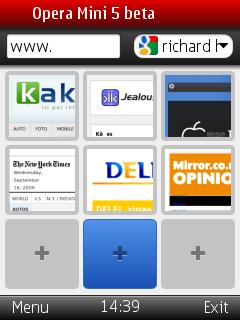Opera Mini 5 Beta - labākais mobilais pārlūks kļuvis modernāks