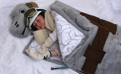 Tauntaun guļammaiss mazajam džedajam