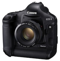 Canon 1D Mark IV - jaunais līderis
