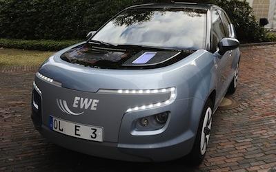 E3 - vēl viens elektromobilis