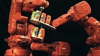 Neticami ātrā un precizā robotu deja