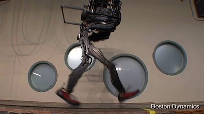 PETMAN iereibušais robots