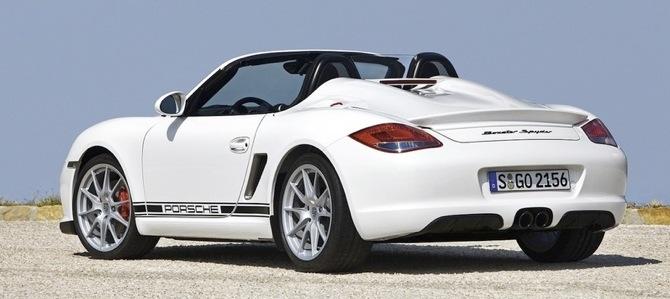 Porsche Boxster Spyder - ātri un lēti