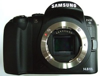 Samsung gatavo jauna standarta fotokameru NX10