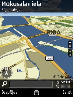 Nokia atrod izeju no krīzes ar GPS navigāciju