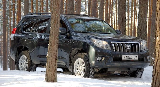 Tests: Toyota Land Cruiser 150