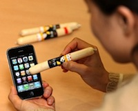 Korejieši lieto telefonus ar cīsiņiem