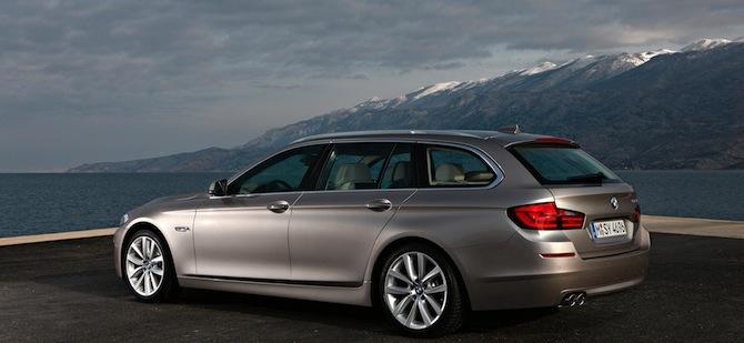 Jaunais BMW 5. sērijas tūrings