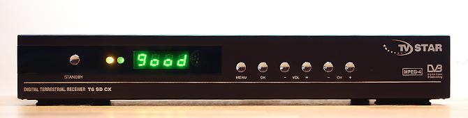 Tests: digitālās virszemes televīzijas dekoderis TV Star T6 SD CX