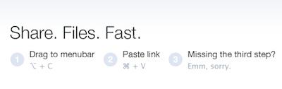 Fantastiski ātrs un ērts failu šārēšanas mākonis