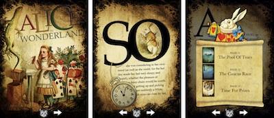 Alise brīnumzemē iegūst interaktivitāti un kļūst par kolosālāko bērnu grāmatu