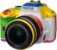 Izvemtā varavīksne [Pentax atkal spēlējas ar krāsām]