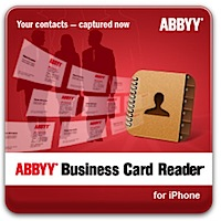 Tests: ABBYY Business Card Reader