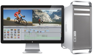 12 kodolu Mac Pro, jauni iMac un 27 collu Cinema Display