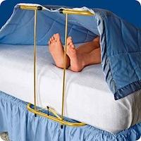 Segas pacēlājs kājām [ļaus pēdām netraucēti gulēt siltumā]