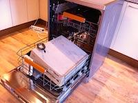 Tests: Electrolux RealLife trauku mazgājamā mašīna... turpinājums ar datoru mazgāšanu