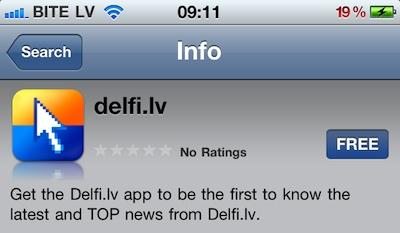 Delfi.app ir klāt!