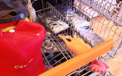 Tests: Electrolux RealLife trauku mazgājamā mašīna... turpinājums ar zābakiem, sautētu lasi un konkursu!