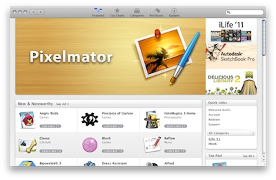 Apple atver Mac App Store