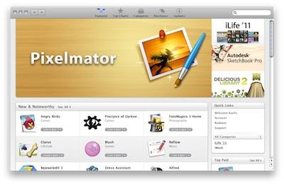 Apple atver Mac App Store