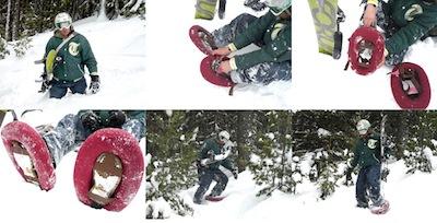 Vismazākās sniega kurpes