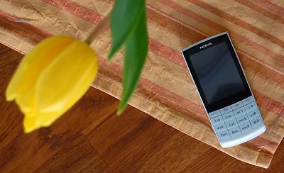 Tests: skārienspaidāmais tālrunis Nokia X3-02
