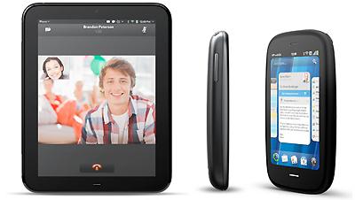 HP prezentē planšetdatoru TouchPad (un divus jaunus mobilos tālruņus)