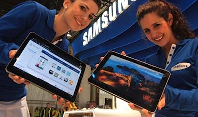 Samsung Tabletes dažāda garuma ambīcijām