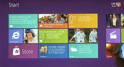 Microsoft sper soli tuvāk tagadnei [prezentē Windows 8 saskarni]